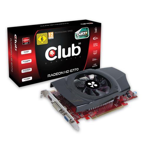 CLUB3D Radeon HD 6770 product photo front L
