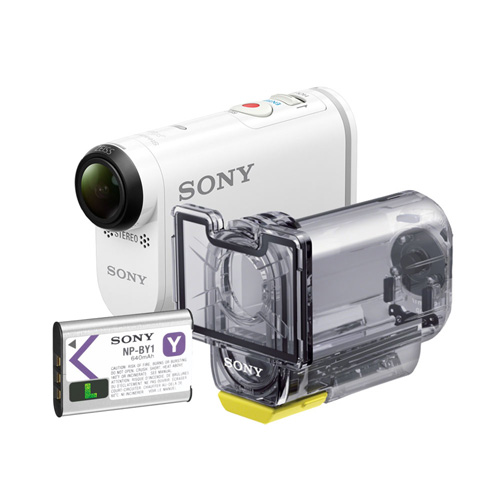 Sony FDR-X1000V Set product photo front L
