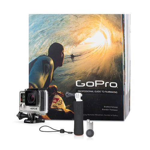 GoPro HERO4 Silver Bundle product.image.text.alttext front L