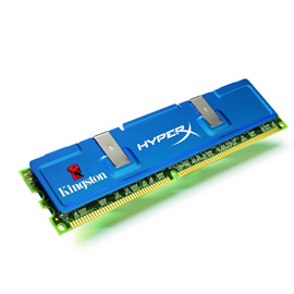 Kingston HyperX 3GB 1375MHz DDR3 Non-ECC Low-Lat CL7 (7-7-7-20) DIMM (Kit of 3) Intel product photo