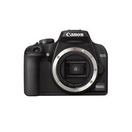 Canon EOS 1000D + EF-S 18-55 + EF 75-300 product photo