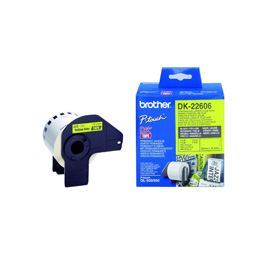 Brother DK-22606 Continuous Yellow Film Tape product photo