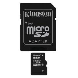 Kingston 16GB microSDHC product photo