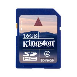 Kingston 16GB SDHC Card product photo
