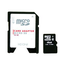 ICIDU Micro Secure Digital 4GB product photo