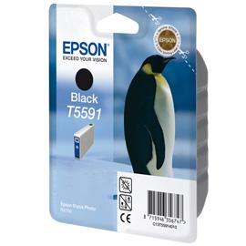 Epson Singlepack Black T5591 product photo