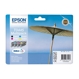 Epson Multipack 4-colours T0445 DURABrite Ink product photo