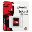 Kingston 16GB SDHC product photo side S