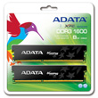 A-DATA XPG Gaming Series DDR3 1600 MHz CL9 8GB (4GB x 2) product photo back S