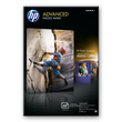 HP Advanced Soft-gloss Photo Paper Glossy Photo Paper-60 sht/10 x 15 cm borderless product photo front S