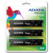 A-DATA XPG Gaming Series, DDR3, 2000 MHz, CL9, 6GB (2GB x 3) product.image.text.alttext back S