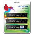 A-DATA XPG Gaming Series, DDR3, 1333 MHz, CL9, Low Voltage, 6GB (2GB x 3) product photo back S