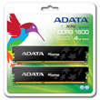 A-DATA XPG Gaming Series, DDR3, 1600 MHz, CL9, 4GB (2GB x 2) product photo back S