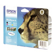 Epson Multipack 4-colours T0715 DURABrite Ultra Ink product photo side S