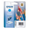 Epson Singlepack Cyan T0322 DURABrite Ink product photo front S