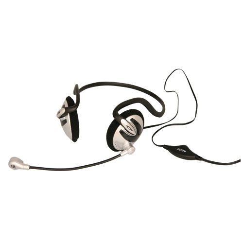 ICIDU Neckband Headset With Microphone & Volume Control photo du produit front L
