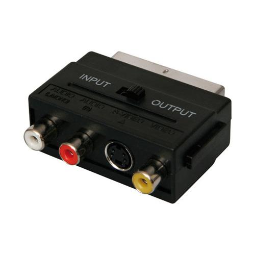 ICIDU Scart Audio / Video Adapter In / Out photo du produit front L