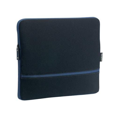 Targus Laptop Skin, Black/Blue photo du produit front L