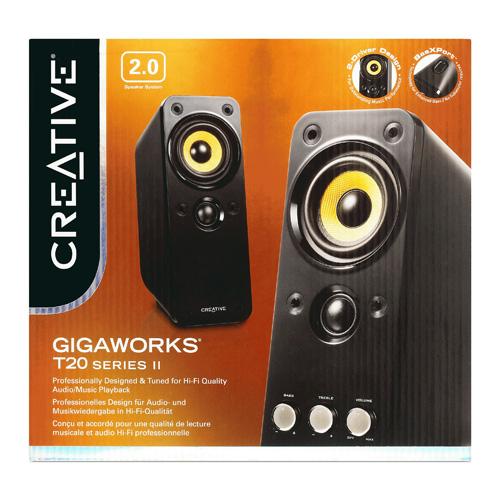 Creative Labs GigaWorks T20 Series II photo du produit back L