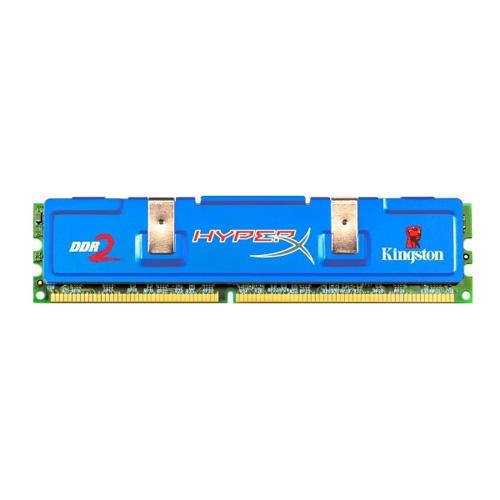 Kingston HyperX 2GB (1X2GB), 1066MHz, DDR2, Non-ECC, CL7 (7-7-7-20), DIMM photo du produit front L