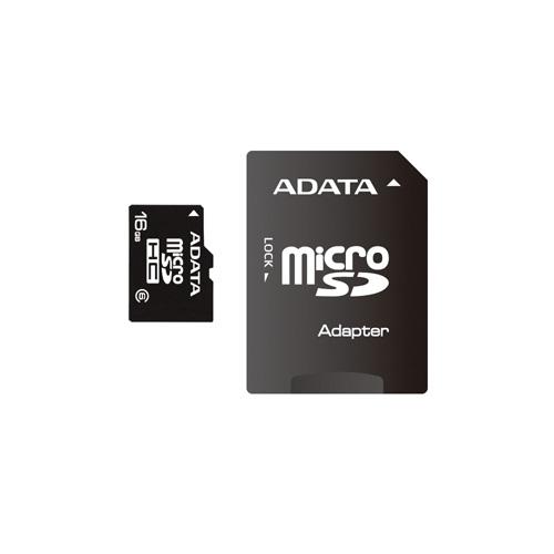 A-DATA microSDHC 16GB class6 photo du produit front L