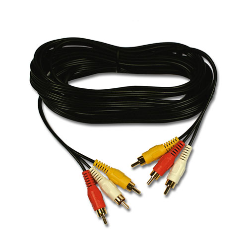 Belkin Triple Pack Phono to Phono Cables, 3m photo du produit front L