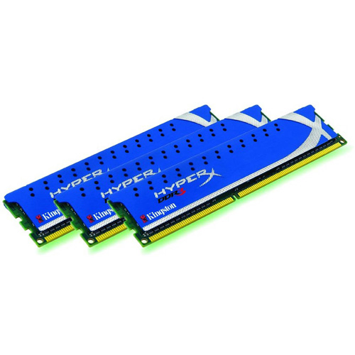 Kingston HyperX 3GB DDR3 1600MHz Kit photo du produit front L