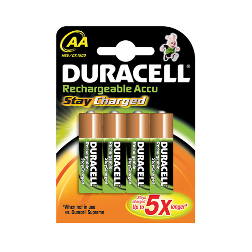 Duracell Stay Charged photo du produit front L