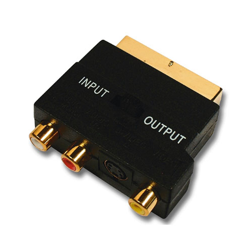 Belkin Scart Adapter photo du produit front L