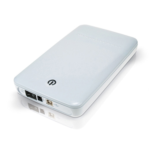 "Conceptronic 3,5"" Harddisk Box USB photo du produit side L"