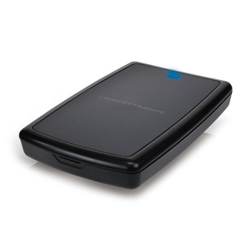 """Conceptronic 2,5"""" Harddisk Box USB 3.0 photo du produit front L"""