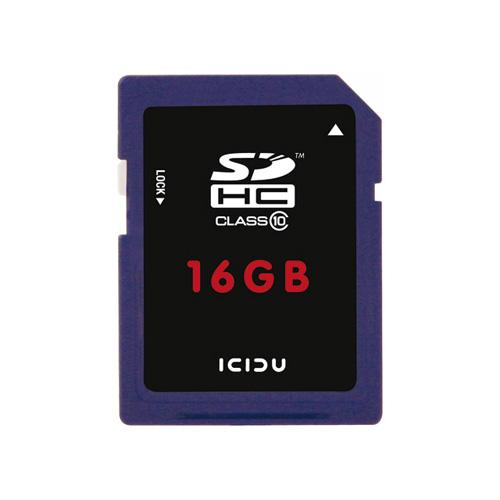 ICIDU Class 10 Hi-Speed Secure Digital Card 16GB photo du produit front L