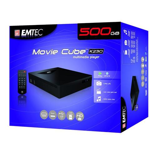 Emtec Movie Cube K230 500GB photo du produit back L