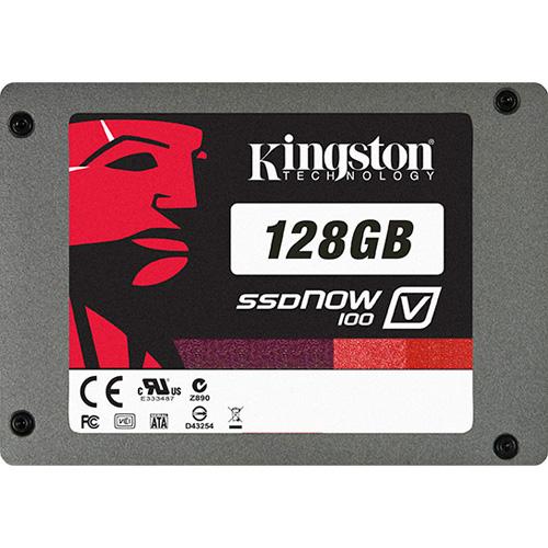 Kingston 128GB SSDNow V100 + Notebook Upg. Kit photo du produit back L