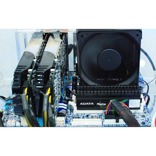 A-DATA XPG Gaming Series V2.0, DDR3, 1600 MHz, CL9, 6GB (2GB x 3) photo du produit side L