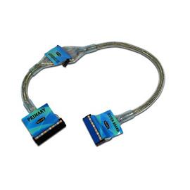 Belkin Ultra ATA Hard Drive Round Cable, Single/Dual Drive - 0.45m photo du produit