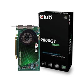 CLUB3D 9800GT Green Edition photo du produit