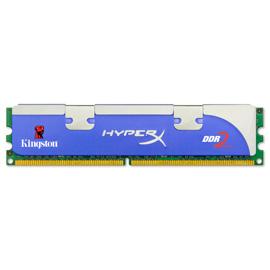 Kingston HyperX 1GB, 1066MHz, DDR2, Non-ECC, CL5 (5-5-5-15), DIMM 240-pin, 2.2V, CL5, Gold photo du produit