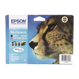Epson Multipack 4-colours T0715 DURABrite Ultra Ink photo du produit