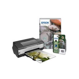Epson Stylus Photo 1400 + Epson Singlepack Black T0791 Claria Photographic Ink photo du produit