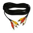 Belkin Triple Pack Phono to Phono Cables, 5m photo du produit front S