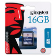 Kingston 16GB SDHC Card photo du produit back S